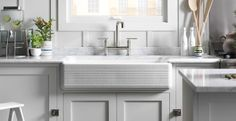 KOHLER | Whitehaven® Hayridge™ Kitchen Sink |