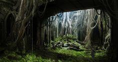 Darksiders 2 environment (2012)