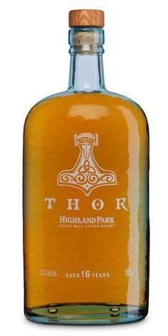 Single Malt Whisky from Highland Park: Thor  - The Orkney Islands, Scotland.