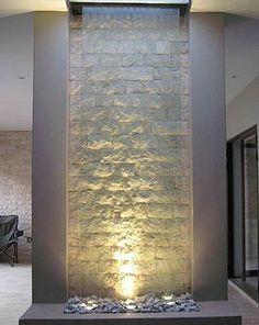 foyer interior water walls - Google Search