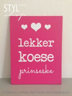 Lekker slapen prinsesje Drink Sleeves, Quotes, Fries, Shirt, Quotations, Dress Shirt, Shirts, Quote, Shut Up Quotes