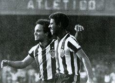 """""""Toninho Cerezo"""" Antônio Carlos Cerezo (Clube Atlético Mineiro, 1972–1983, 111…"""