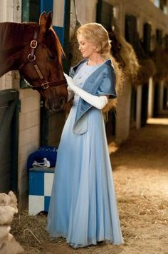 this movie has the best fashion and costumes. secretariat