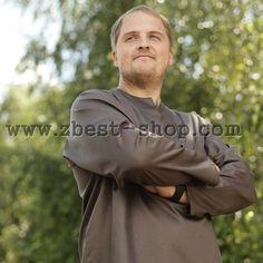 Мужская рубашка выполнена из 100% европейского хлопка Big Men, Rain Jacket, Windbreaker, Jackets, Shirts, Shopping, Fashion, Down Jackets, Moda