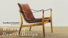 Six of the most prominent female Danish designers of the prolific post-WII period. Danish Furniture, Wood Furniture, Danish Culture, Interiors Magazine, Ceramic Studio, Types Of Furniture, Ceramic Design, Danish Modern, Danish Design