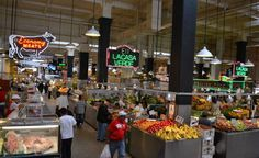 Grand Central Market Los Angeles, California - top kid friendly activities in downtown LA