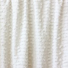 ruffle fabric -- if I ever have a girl, this will be too much fun!