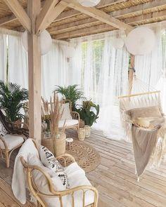 DIY Hinterhof Ziele Patio-Dekor Bohemian-Interior Taras Terrasse ourdoor Bohemian Source by The post