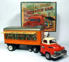 Bookmobile toy