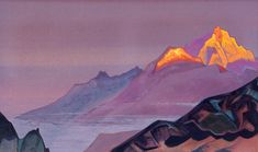Nicholas Roerich-way-to-shambala-1933.jpg (1800×1063)