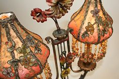 Christine Kilger makes the most beautiful lampshades I have seen.