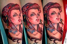 Maga Lee Tattoo Tatuando en Buenos Aires, Argentina. Contactame para tu próximo…