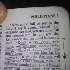 Friends as you go to bed tonight. Please remember. Philippians 4:6-7  6 Don't worry about anything; instead, pray about everything. Tell God what you need, and thank him for all he has done. 7 If you do this, you will experience God's peace, which is far more wonderful than the human mind can understand. His peace will guard your hearts and minds as you live in Christ Jesus. Have a blessed and worry free night          #god #tomorrow #Godgotthis #dontworry #behappy #nevergiveup