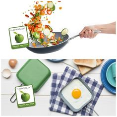 Eco-friendly GreenPan Ceramic Frying Pan and Egg Pan #Giveaway #win #competition (RRP £42)