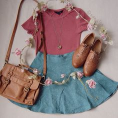 Love everything about this outfit! <3