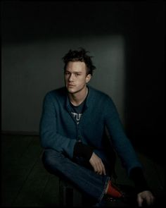 """Actor Nick Offerman offers an ode to his friend, photographer Dan Withers (who shot this portrait of Heath Ledger in 2001), in 1,000 """"insufficient"""" words. http://ti.me/Qfx2Fd"""