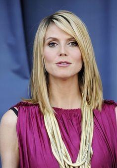Heidi Klum Hair - Heidi Klum Hair  Repinly Celebrities Popular Pins