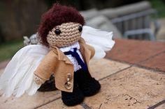 Castiel Amigurumi by Andrea Robertson, via Flickr