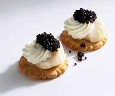 Rezept: Jakobsmuschel-Kaviar-Häppchen