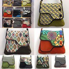 """Comparte tus momentos #ruzafagente con nosotros. @moondeval  Muestros nuevos modelos de bolsos """"Giulietta"""". Todos únicos, hechos con mucho amor desde Valencia. #bolsos #bolso #ruzafa #ruzafagente #moondeval #artesanía #hechoamano #handmadebag #valencia #tiendasbonitas #giulietta #costura #artesanal #moda"""