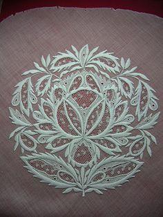 Whitework embroidery - gorgeous!