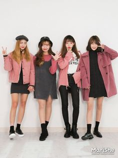 Here Are Some Best korean fashion outfits 9546 Korean Fashion Trends, Korean Street Fashion, Korea Fashion, Kpop Fashion, Cute Fashion, Asian Fashion, Girl Fashion, Fashion Looks, Fashion Outfits