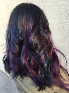 Embellish First Avenue - Arcadia, CA, United States. Oil slick hair color by Sammi Situ