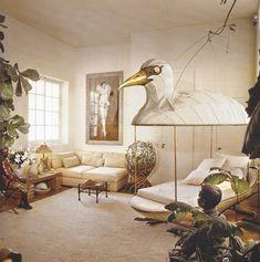 Interior design by Jacques Grange  - Designer Focus:  Jacques Grange