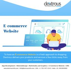 Start selling online by having an E-commerce Website. Design your Online Store You Have Always Wanted with Dextrous. Web Development Agency, Design Development, Web Design Agency, Digital Marketing Services, Selling Online, Ecommerce, Website, Store, Larger