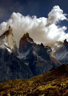 Torres del Paine, Patagonia #GTSA_SA - it doesn't matter how many images I pin of the Torres del Paine, it always looks different whatever the weather conditions - it is stunningly beautiful.