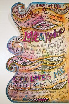 by Valeria Sjodin    love the doodle patterns and lettering
