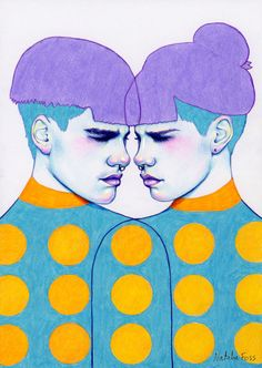 Natalie Foss - Illustrator and artist based in Oslo, Norway. Unisex