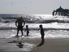Imperial beach, my son was 3 in this picture in the front