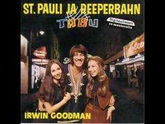 Irwin Goodman - St. Pauli ja Reeperbahn - YouTube Irwin Goodman, Youtube, Broadway Shows, Finland, Youtubers, Youtube Movies