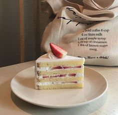Uploaded by Find images and videos about food, aesthetic and cake on We Heart It - the app to get lost in what you love. Pretty Cakes, Cute Cakes, Dessert Drinks, Dessert Recipes, Cute Desserts, Cafe Food, Sweet Cakes, Aesthetic Food, Food Inspiration