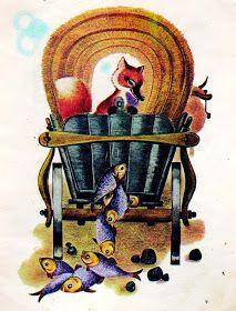 Anemone: Ileana Ceausu Pandele - Ursul pacalit de vulpe Harry Clarke, Maxfield Parrish, Aubrey Beardsley, Kay Nielsen, 1 John, Beatrix Potter, Children's Book Illustration, Ursula, Will Smith