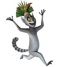 Ring-tailed lemurs live in large social groups with strong female dominance -- the movie Madagascar should have made the character ruling over the colony a Queen, rather than King Julien!