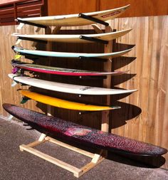 Design your own and we will build it for you, or pick what you need from the selection below. Custom Surfboard Storage Solutions made in Lennox Head - Byron Bay