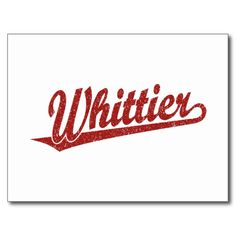@@@Karri Best price          Whittier script logo in red distressed post card           Whittier script logo in red distressed post card Yes I can say you are on right site we just collected best shopping store that haveDeals          Whittier script logo in red distressed post card Review on the...Cleck Hot Deals >>> http://www.zazzle.com/whittier_script_logo_in_red_distressed_post_card-239510933139980218?rf=238627982471231924&zbar=1&tc=terrest