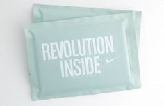 collateral: nike revolution inside packaging | ceft and company new york