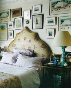 Hamish Bowles / Francois Halard / World of Interiors {bedroom}   by recent settlers