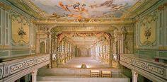 Český Krumlov Castle, Český Krumlov, Czech Republic (another of the five working Baroque theaters in the world):
