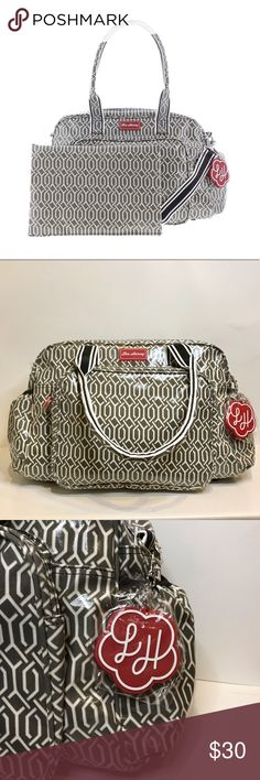 Changing Pad, Cotton Bag, Baby Accessories, Geo, Cross Body, Diaper Bag, Dust Bag, Shoulder Strap, Flaws