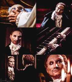 "emanuela-g-racaniello: ""Charles Dance as Erik in The Phantom of the Opera (1990)"" ^ One of the best characterizations on Erik"