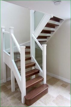 winder staircase for a tight space