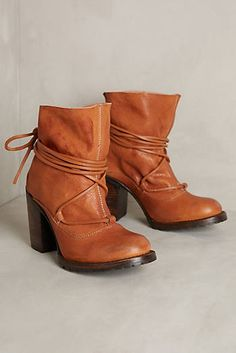 Must-have fall booties #anthrofave http://www.revolvechic.com/