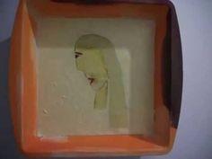 PORTRAIT OF AN UNLOVED WOMAN. By contemporary artist Stuart Ridley