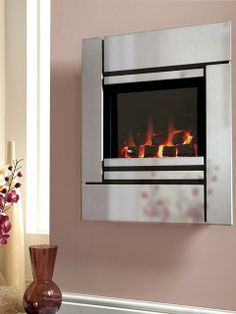 Passion, High Efficiency, Gas Fire, Silver, Coal Fuel Bed