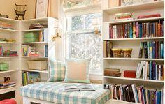 Inspirações para criar um cantinho de leitura em casa - Haus