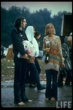 A Soggy Day at Woodstock